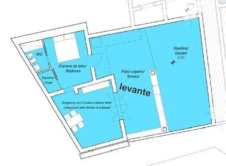 Levante apartment plan