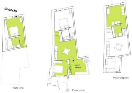 Libeccio apartment plan