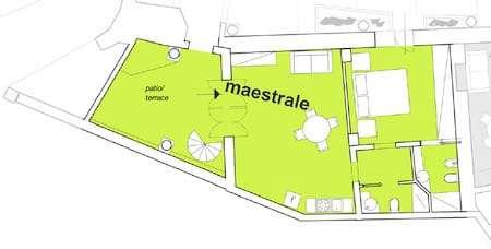 Maestrale apartment plan