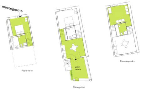 Mezzogiorno apartment plan