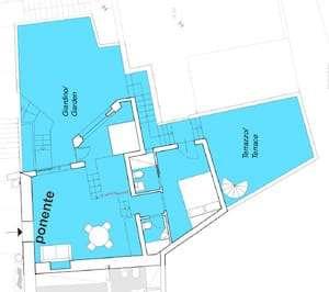 Ponente apartment plan