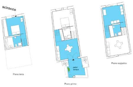 Scirocco apartment plan