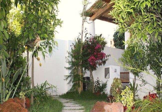 piante del giardino privato dell'appartamento levante gabbiano relais stromboli