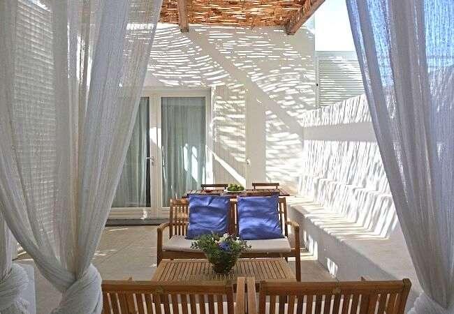 patio appartamento mezzogiorno il gabbiano relais stromboli