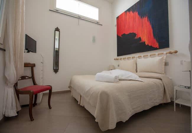 terza camera dell'appartamento libeccio del gabbiano relais stromboli
