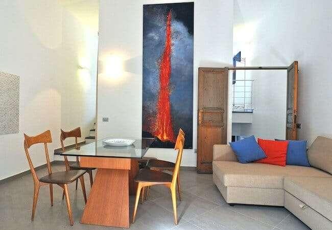 Gabbiano Relais Stromboli Apartment Mezzogiorno - living room