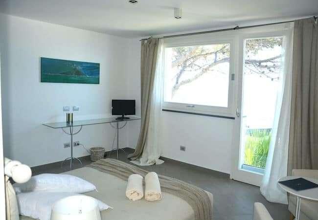 Gabbiano Relais Stromboli Apartment Mezzogiorno - main bedroom view