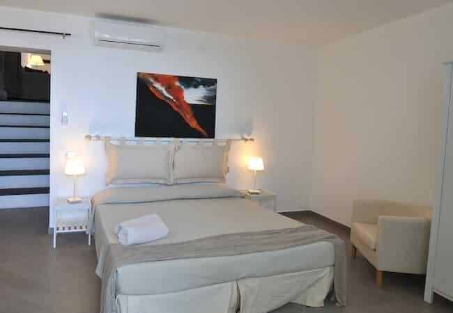seconda camera appartamento scirocco del gabbiano relais stromboli