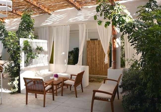 Gabbiano Relais Stromboli apartment Scirocco - patio